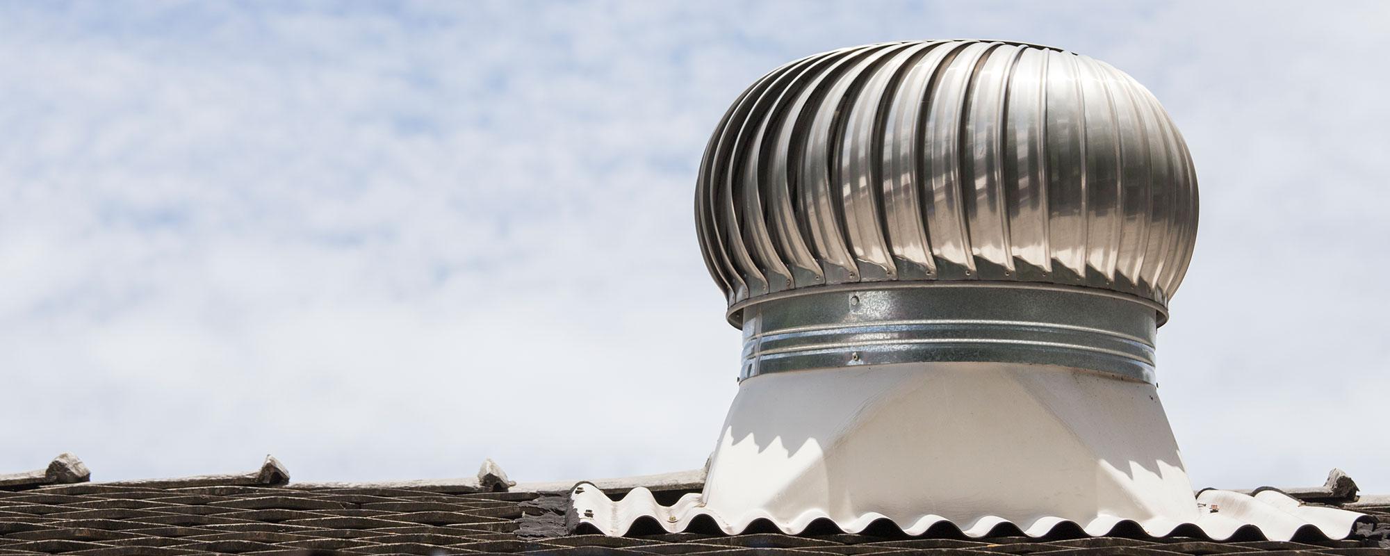 Ventilação de Telhados Industriais